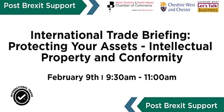 International Trade Briefing: Protecting Your Assets- Intellectual Property tickets