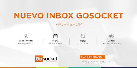 Nuevo Inbox Gosocket boletos