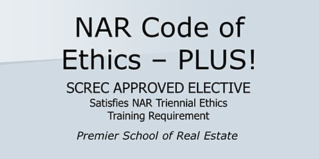NAR COE - with CE! Webinar (2 CE ELECT) Fri.  Feb  5 2021 (3-5:30) tickets