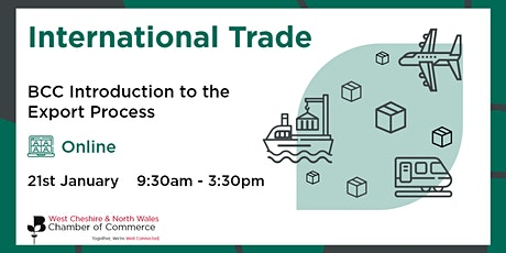 BCC Introduction to the Export Process tickets