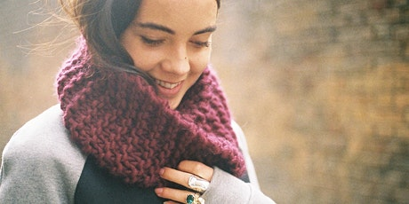 KNIT A SNOOD WITH WOOL AND THE GANG - FREE tickets