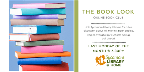 The Book Look: Online Book Club tickets