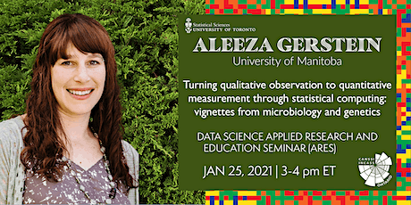 Data Science Applied Research and Education Seminar: Aleeza Gerstein tickets