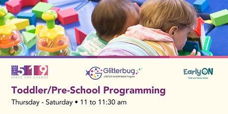 EarlyON Toddler/Pre-School Programming (18 months - 6 years) tickets