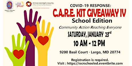 C.A.R.E. Kit Giveaway IV: School Edition tickets