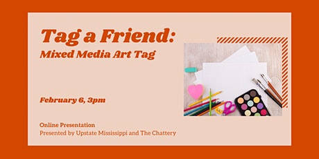 Tag a Friend: Mixed Media Art Tags - ONLINE CLASS tickets