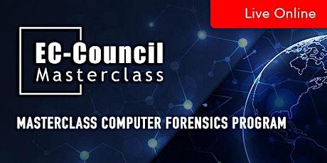 MasterClass Computer Forensics Program tickets