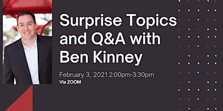 Surprise Topics and Q&A with Ben Kinney and the Ohio Valley Region tickets