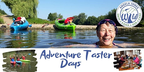 Adventure Taster Days  May 4th  swim/kayak /Lunch tickets