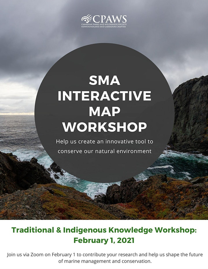 SMA Interactive Workshop Series - Indigenous & Trad. Knowledge (Feb. 1) image