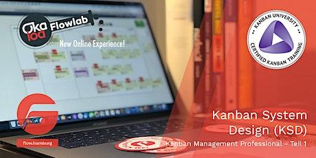 Kanban System Design (Kanban Management Professional I) - VIRTUELL Tickets