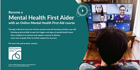 Mental Health First Aid England - Adult 2 Day Course tickets
