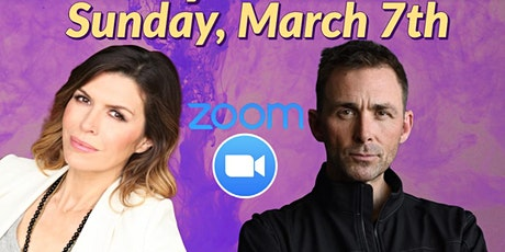 Zoom with  Finola Hughes and James Patrick Stuart!- Sunday, March 7th tickets