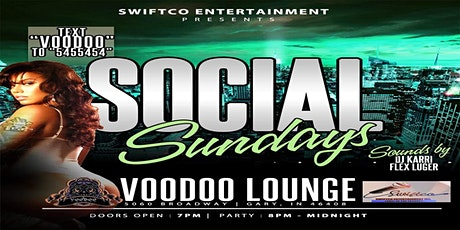 SOCIAL SUNDAY'S | CAPRICORN BASH!!  21+ W/ VALID ID & FACE MASK RECOMMENDED tickets