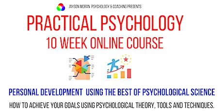 10 Week Online Course: Personal Development using  Psychological Science tickets