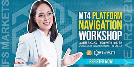 Free Webinar on MT4 Platform Navigation tickets