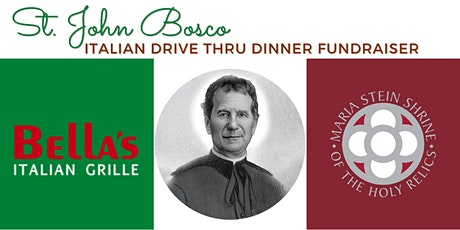 St. John Bosco Italian Drive Thru Dinner tickets