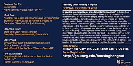 Feb Housing Hangout  - Social Housing tickets