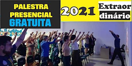 Palestra presencial 2021 Extraordinário ingressos