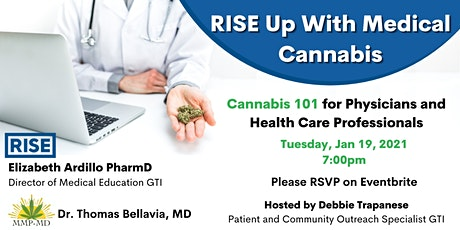 RISE Up With Medical Cannabis for Physicians and Healthcare Professionals tickets
