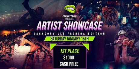 Concert Crave Artist Showcase - JACKSONVILLE, FL 1.16.21 tickets