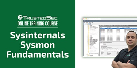 Sysinternals Sysmon Fundamentals - Online Training tickets
