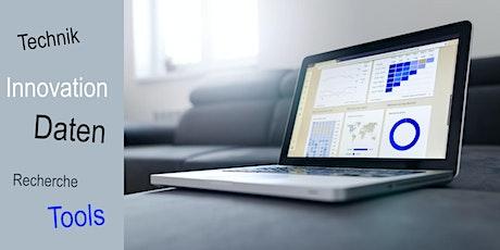 Tools und Datenbanken für Technologie- und Marktrecherchen Tickets