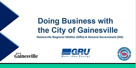 Doing Business with the City of Gainesville tickets