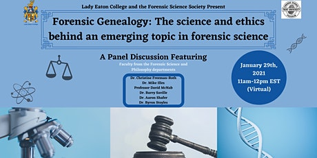 Forensic Genealogy: The Science and Ethics Behind a New Topic in Forensics tickets