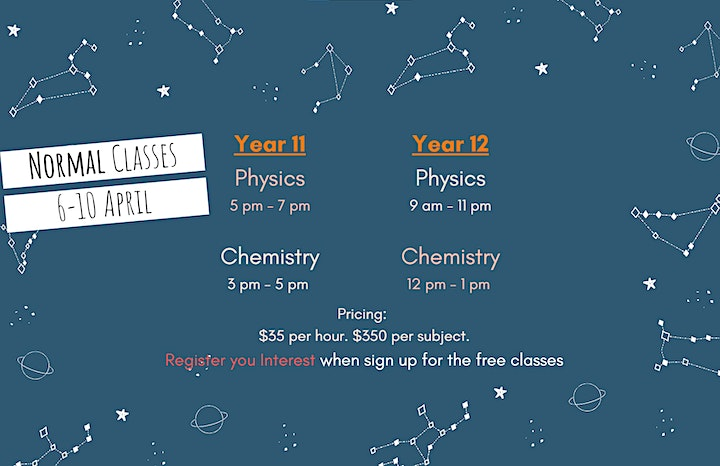 HSC Physics and Chemistry April Intensive (Online Classes) image
