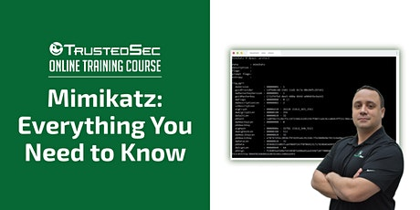 Mimikatz: Everything You Need to Know - Online Training tickets