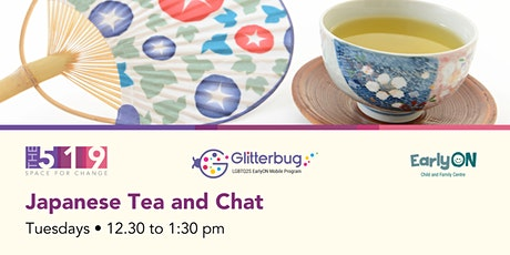Japanese Tea and Chat tickets