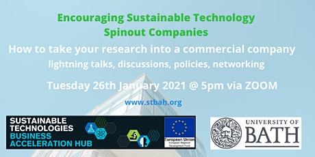 Encouraging Sustainable Technology Spinouts tickets