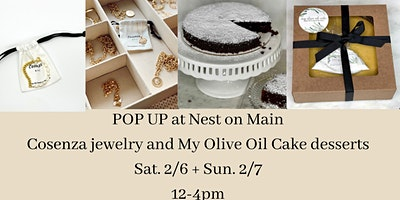 Pop-Up with Cosenza and My Olive Oil Cake!