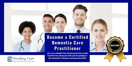 Become a Certified Dementia Care Practitioner tickets