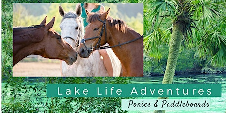 Ponies and Paddleboards tickets