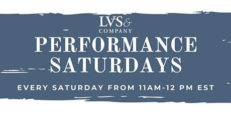 PERFORMANCE SKILLS SATURDAYS tickets