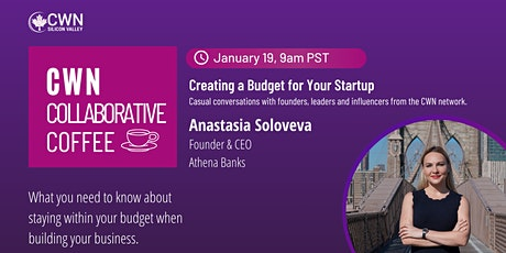 CWN Collaborative Coffee- Creating a Budget for Your Startup tickets