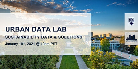 Urban Data Lab - Enabling and Supporting Sustainability tickets
