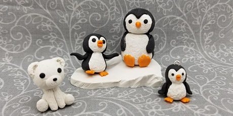 Polymer Clay: Penguin and Polar Bear - Online tickets