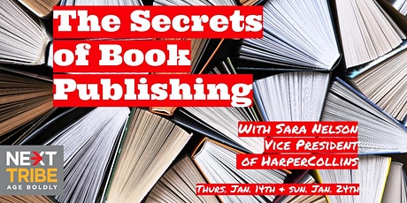 The Secrets of Book Publishing with Sara Nelson tickets
