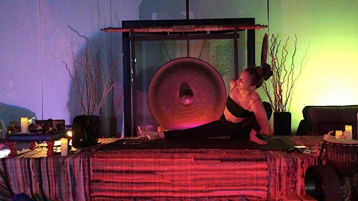 Thursday Night YOGA+Gong Meditation image