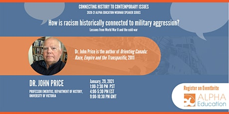 Connecting History to Contemporary Issues Webinar tickets