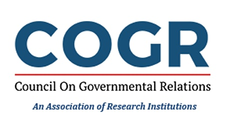 Council on Governmental Relations February 24-26, 2021 Virtual Meeting tickets