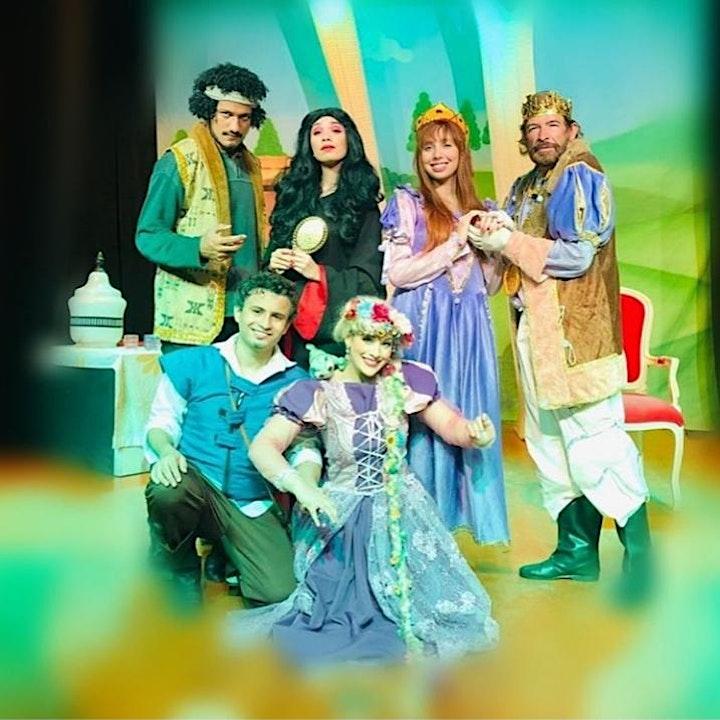 """Imagem do evento 50%  de Desconto! Espetáculo infantil """"Sou Rapunzel"""", no Teatro BTC"""
