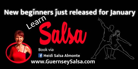 Learn to Dance Salsa + Bachata in Guernsey tickets
