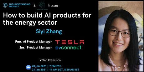 How to build AI products for energy sector, by Fmr. Tesla Product Manager tickets