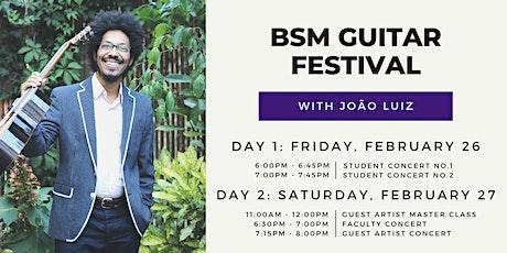 BSM Guitar Festival tickets