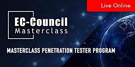 MasterClass Penetration Tester Program tickets