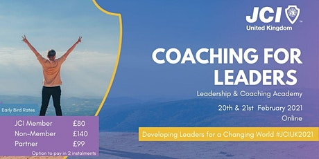 Coaching for Leaders tickets